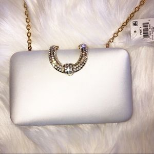 INC international gorgeous clutch.         D25